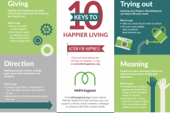 10-Keys-to-Happier-Living-wall-poster