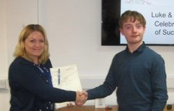 Luke, Marketing, Apprenticeship, Completion, Celebration