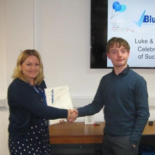 Luke, Marketing, Apprenticeship, Completion, Celebration