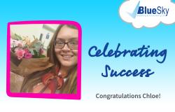 Chloe-Celebrating-Success-Travel-Apprenticeship