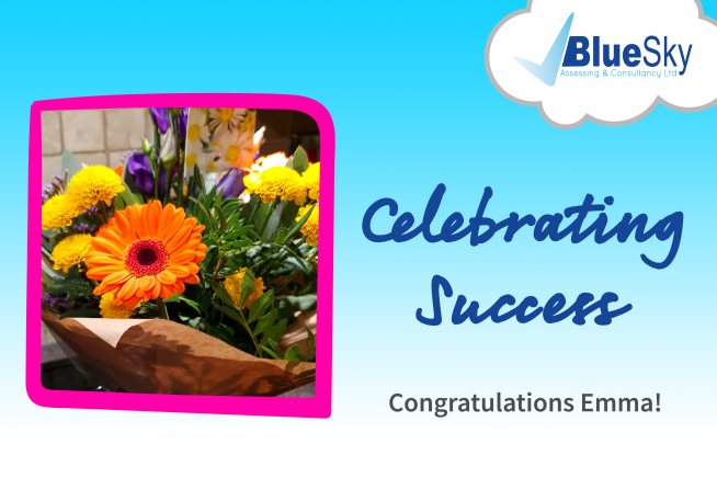 Emma-Business-Admin-Apprenticeship-Celebrating-Success-Blue-Sky
